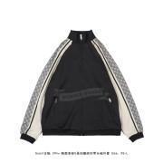 GC Oversize technical jersey jacket black/white