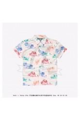 DSN x GC oversize bowling shirt