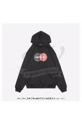 BC Uniform Large Fit Hoodie in Black