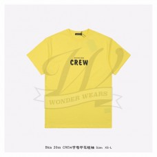 BC Crew Large Fit T-shirt in Yellow