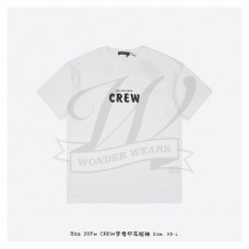 BC Crew Large Fit T-shirt in White