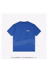 BC logo printed short sleeves T-shirt Blue