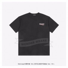 BC Oversized tee-shirt with political campaign logo Black