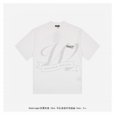 BC POLITICAL CAMPAIGN LARGE FIT T-SHIRT IN WHITE