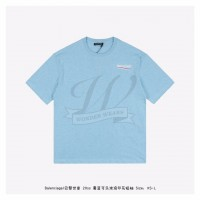 BC Political Campaign Regular Fit T-shirt Baby Blue