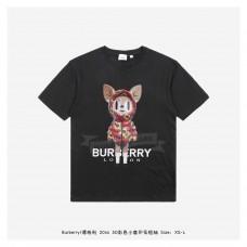 BR 3D Colorful Deer Print T-shirt Black