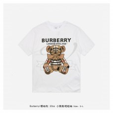 BR Embroidered Bear T-shirt White