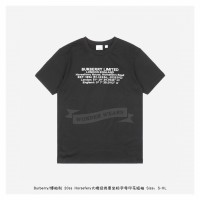 BR Horseferry House Coordinate Print Cotton T-shirt Black