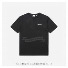 BR Location Print Cotton Oversized T-shirt Black