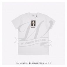 BR Montage Print Cotton Oversized T-shirt White
