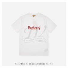 BR Embroidered Logo T-shirt White/Red