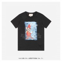GC T-shirt with Duke Mouse print Black