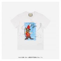 GC T-shirt with Duke Mouse print White