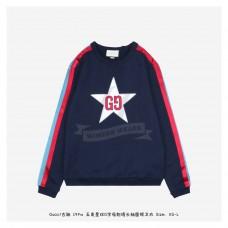 GC 19FW GG Star Sweatshirt Dark Blue