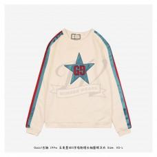 GC 19FW GG Star Sweatshirt White