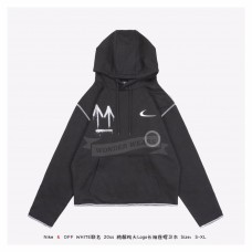 Nike x Off White Graffiti Arrows Hoodie Black