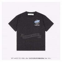 Off White TAPE ARROWS S/S T-SHIRT Malaysia Only Black