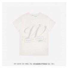 Off-White Watercolor Painting Arrows T-Shirt White