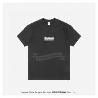 Supreme Bandana Box Logo Print T-shirt Black