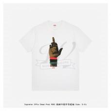 Supreme Dead Prez RBG Print T-shirt White