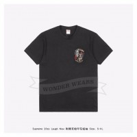 Supreme Laugh Now print T-shirt Black