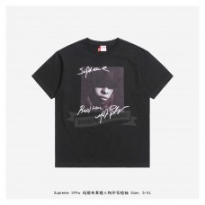 Supreme 19FW MJB Character Print T-shirt Black