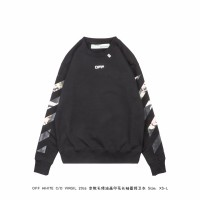 Off White Caravaggio Arrows Over Sweatshirt Black