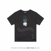 Off White DRIPPING ARROWS S/S OVER T-SHIRT Black