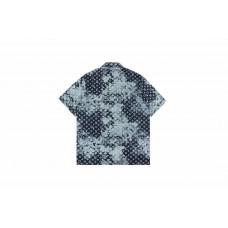1V 21SS Monogram Denim Shirt