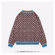 1V All Over Logo Wool Sweater