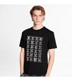 1V Cartoons Jacquard T-shirt