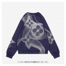 1V Flower Printed Sweatshirt
