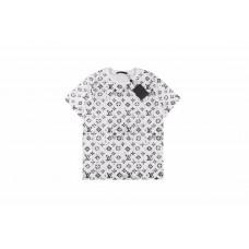 1V Ink Allover Logo Print T-shirt