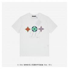 1V Multicoloured Monogram Printed T-shirt