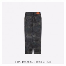 1V Regular Fit Spray Monogram Pants