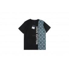 1V Three Logo Stripe Jacquard T-shirt