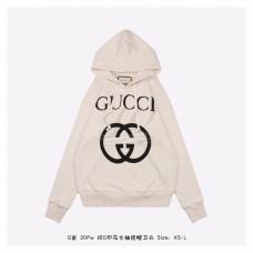 GC Hooded sweatshirt with Interlocking G