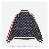 GC GG Jacquard Cotton Jacket Blue/Ivory