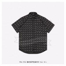 BC Allover Logo Normal Fit Shirt Black