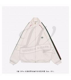 GC Jersey zip-up sweatshirt with Web