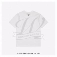 Aape SS Head Bronzing T-shirt White
