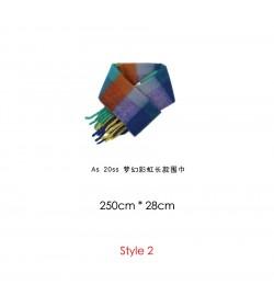 ACNE STUDIOS Multicolor Check Scarf
