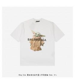 BC 21ss Mandalo Yoda Alien Print T-shirt