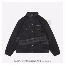 BC CREW LARGE FIT JACKET Black