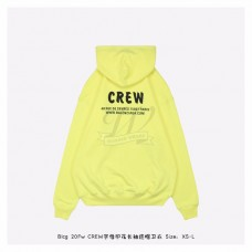 BC Crew Medium Fit Hoodie in Yellow