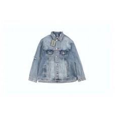 BC 20FW Distressed Denim Jacket