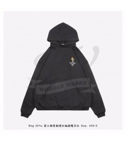 BC Large Fit Torch Embroidered Hoodie