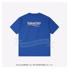 BC logo printed short sleeves T-shirt Blue