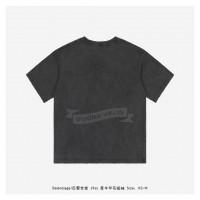 BC Rhinoceros Print T-shirt Washed Old Black