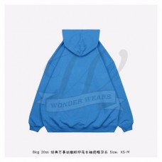 BC Uniform Large Fit Hoodie in Blue